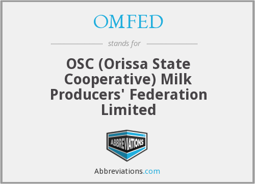 What does OMFED stand for?
