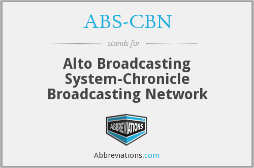 What does ABS-CBN stand for?
