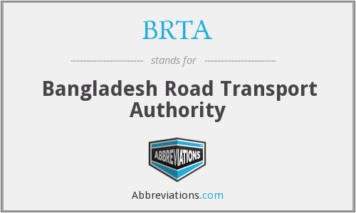 What does BRTA stand for?