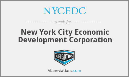 What does NYCEDC stand for?
