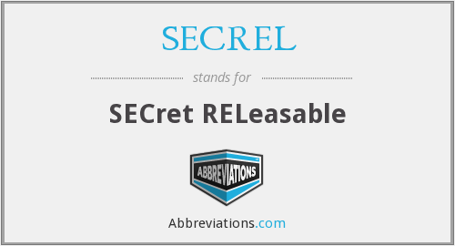 What does SECREL stand for?