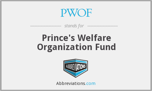 What does PWOF stand for?