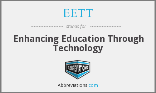 What does EETT stand for?