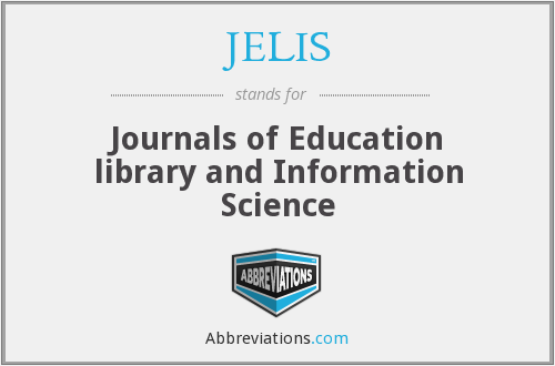 What does JELIS stand for?