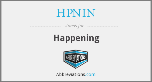 What does HPNIN stand for?