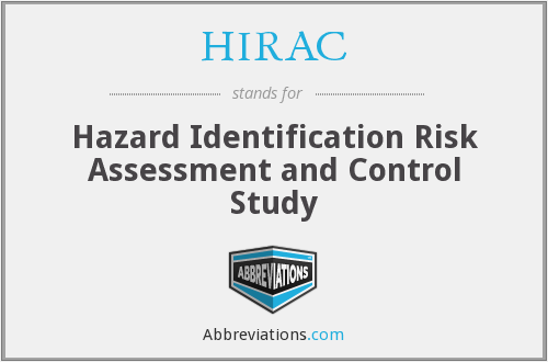 What does HIRAC stand for?