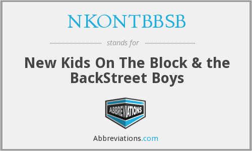What does NKONTBBSB stand for?