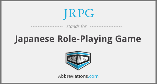 What does JRPG stand for?