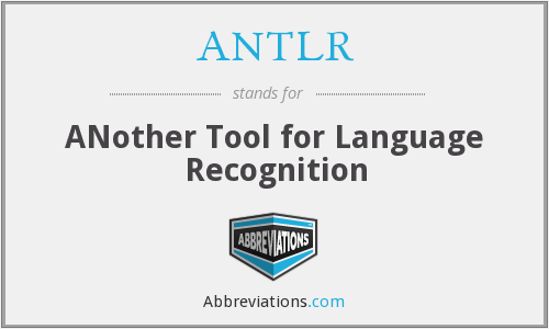 What does ANTLR stand for?