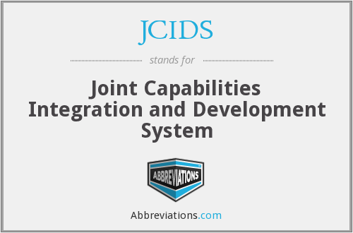 What does JCIDS stand for?
