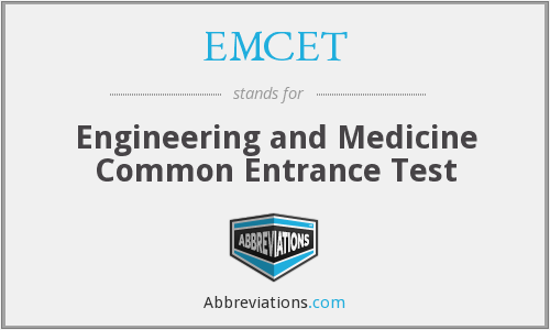 What does EMCET stand for?