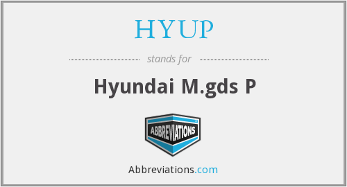 What does HYUP stand for?