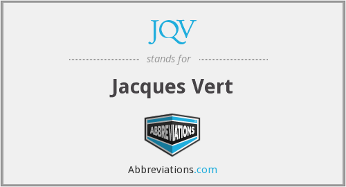 What does JQV stand for?