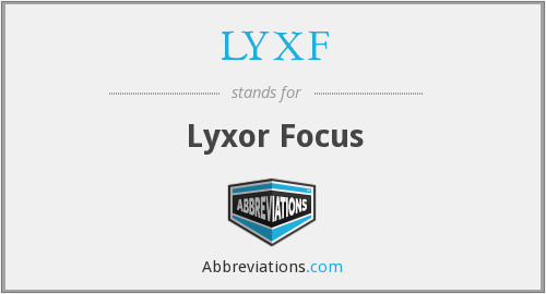 What does LYXF stand for?