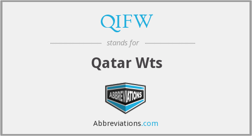 What does QIFW stand for?