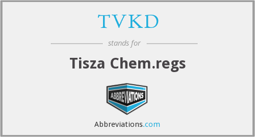 What does TVKD stand for?