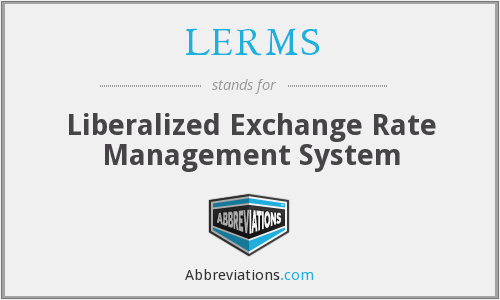 What does LERMS stand for?