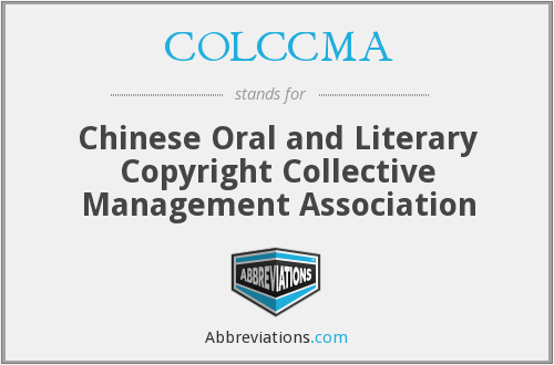 What does COLCCMA stand for?