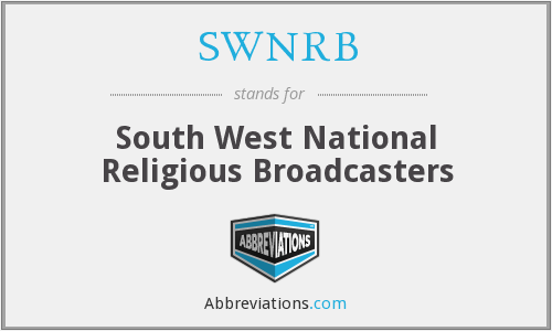 What does SWNRB stand for?