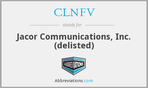What does CLNFV stand for?