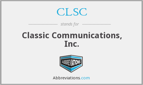 What does CLSC stand for?