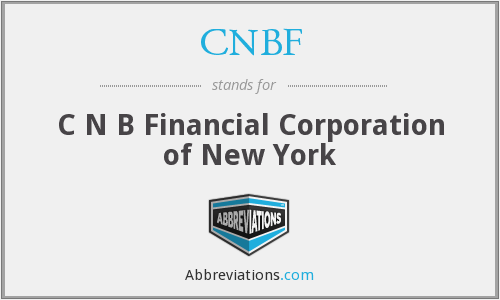 What does CNBF stand for?