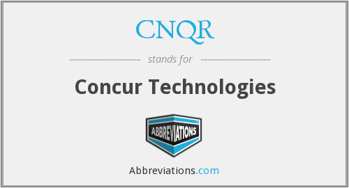 What does CNQR stand for?