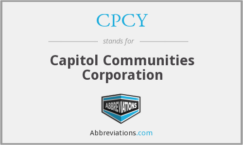 What does CPCY stand for?