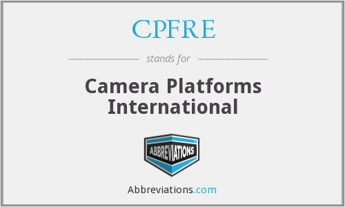 What does CPFRE stand for?