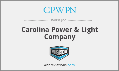 What does CPWPN stand for?