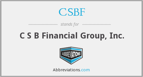 What does CSBF stand for?