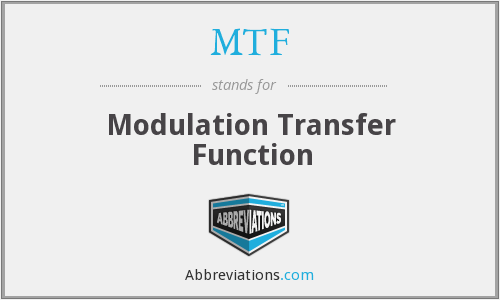 What does MTF stand for?