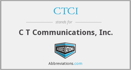 What does CTCI stand for?