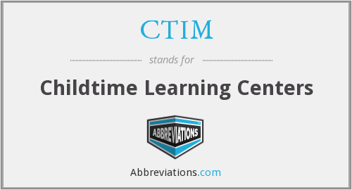 What does CTIM stand for?