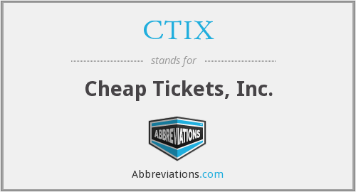 What does CTIX stand for?
