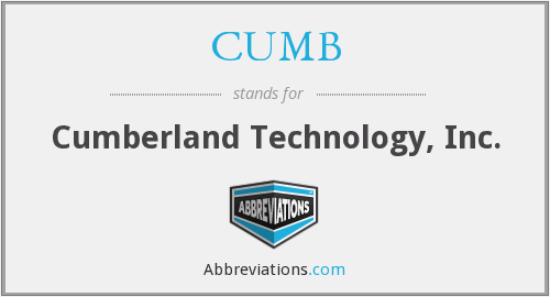 What does CUMB stand for?