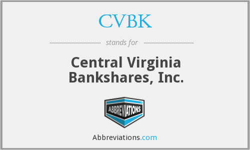 What does CVBK stand for?
