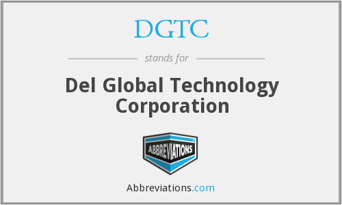 What does DGTC stand for?