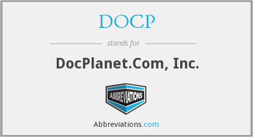 What does DOCP stand for?