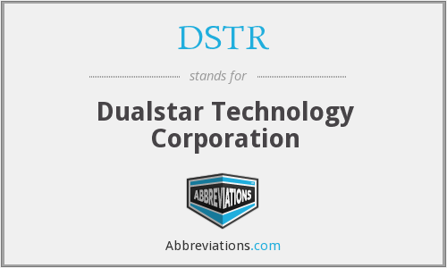 What does DSTR stand for?