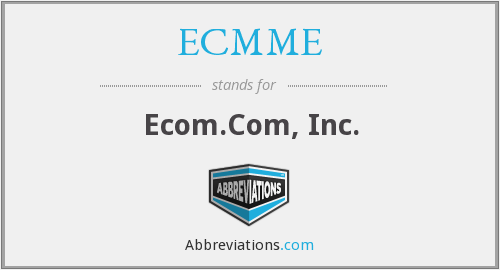 What does ECMME stand for?