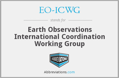 What does EO-ICWG stand for?