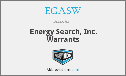 What does EGASW stand for?