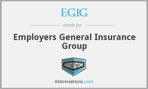 What does EGIG stand for?