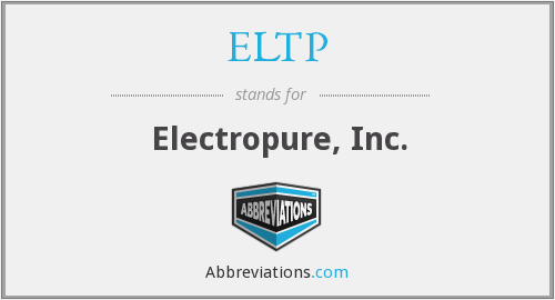 What does ELTP stand for?