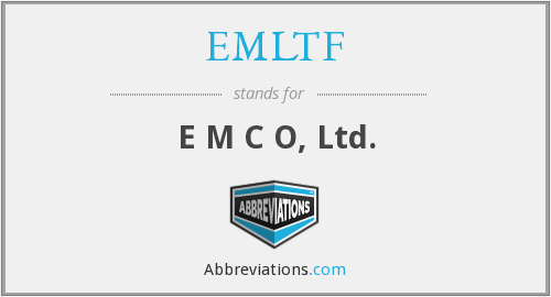 What does EMLTF stand for?