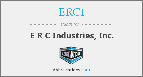 What does ERCI stand for?