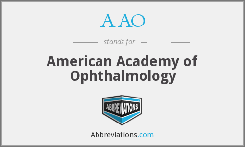 What does AAO stand for?