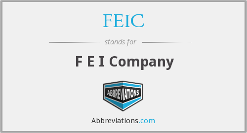 What does FEIC stand for?