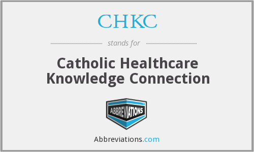 What does CHKC stand for?